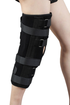 (Large)Knee Support Brace immobilizer Knee pad Adjustable Patella Knee Pads Safety Guard Strap - intl - 3