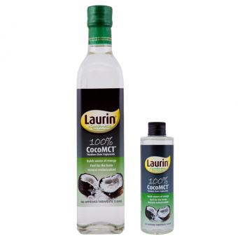 Laurin 100% Coco MCT 500ml and Laurin 100% Coco MCT 150ml Price Philippines