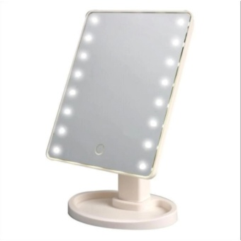 LED Vanity Makeup Mirror with Lights Table Lamp & Cosmetic Mirror (WHITE)