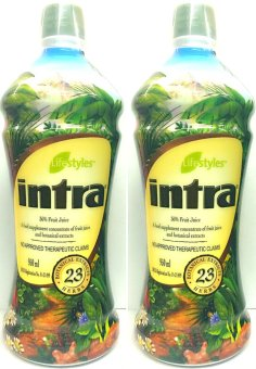 Lifestyles Intra 23 Herbal Juice 950ml by2s