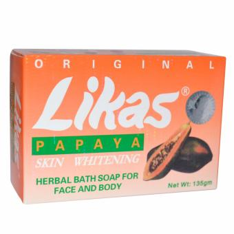Likas Papaya Skin Whitening Soap 135g