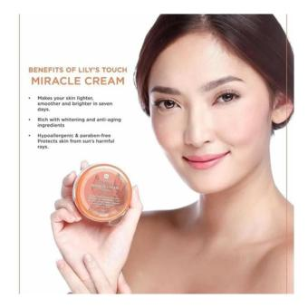Lily's Touch Miracle Cream 50ml FREE 2 Miracle Soap 90g - 2