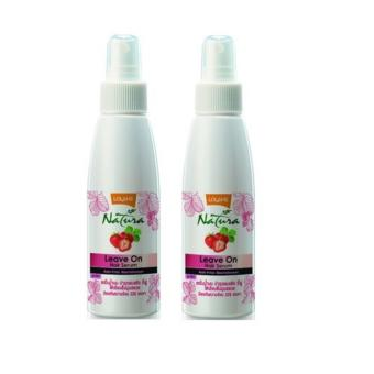 Lolane Natura Leave on Hair Serum Heat Defence and Anti frizz nourishment (set of two)