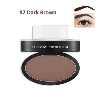 Long Wearing Eyebrow Easy Apply ARCHED Brow Stamp #02 Brown 6g