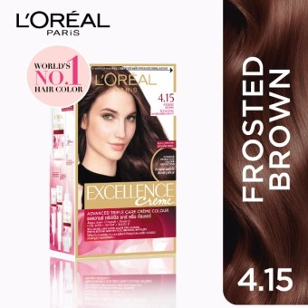 L'Oreal Paris Excellence Creme Hair Color 14g (No.4.15 FrostedBrown) Price Philippines