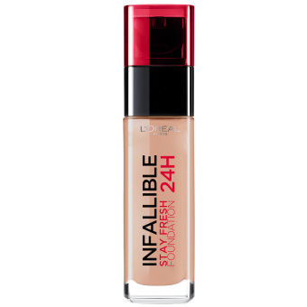 L'Oreal Paris Infallible 24HR Stay Fresh Liquid Foundation 30ml (140 Golden Beige)