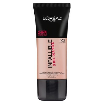 L'Oreal Paris Infallible Pro-Matte Liquid Foundation - 102 Shell Beige Price Philippines