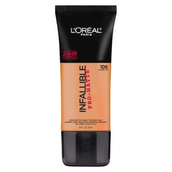 L'Oreal Paris Infallible Pro-Matte Liquid Foundation - 109 Classic Tan