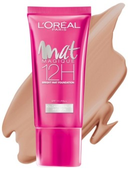 L'Oreal Paris Mat Magique Liquid Foundation - N3 Nude Vanilla
