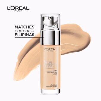 L'Oreal Paris True Match Liquid Foundation 30ml (G3 Gold Vanilla)