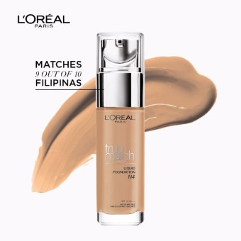L'Oreal Paris True Match Liquid Foundation 30ml (N4 Nude Beige)