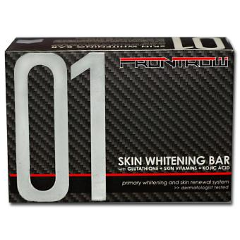 Luxxe Frontrow Skin Whitening Bar 01 with Glutathione + Skin Vitamins + Kojic Acid