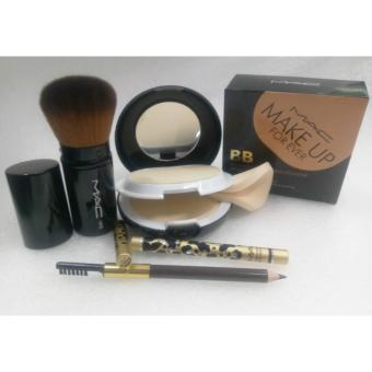 Mac Kabuki Brush ,Mac Eyebrow Pencil and Mac Make Up Forever BB2in1 Powder Set Of 3 Price Philippines