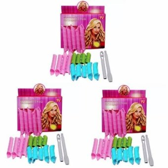 Magic Hair Curlers Curl Formers Spiral Ringlets Leverage Rollers