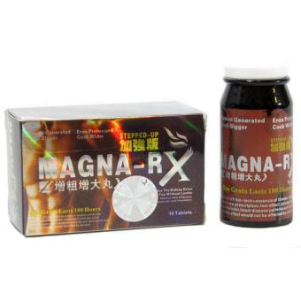 Magna-RX STEPPED UP Male Sex Enhancement Supplement 10 Red Tablets