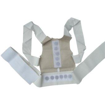 Magnetic Posture Humpback Support Corrector Belt Back Brace Strap(Size:XL) - intl - 2