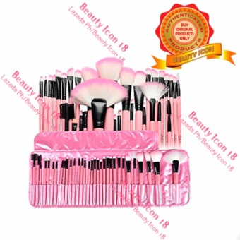 Make-Up For You Professional Cosmetic Makeup Brush 32-piece Set (Pink)