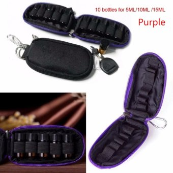 Makeup Travel Essential Oil Bag For Nail Polish Cosmetic Bag - intl