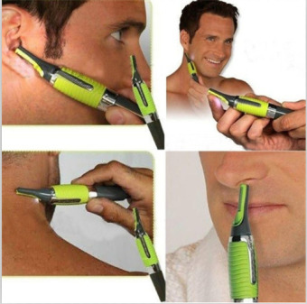 Man Professional Personal Hair Trimmer Ear Nose Mustache Beard Grooming Kit Trimmer - intl