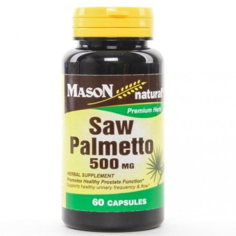 Mason Saw Palmetto 500mg Capsules Bottle of 60