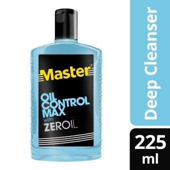 Master Deep Oil Control Facial Cleanser 225ml .
