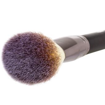 Matto 1pcs Makeup Brush Cosmetics Large Powder Brush for Face Make Up Tools Flawless Foundation Kabuki Brush (Black) - Intl - 2