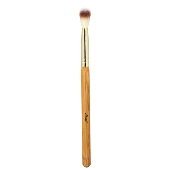 Matto Bamboo Makeup Brush Highlight Eyeshadow Blending Brush for Blending Buffing Powder Shadow on Eyelid Crease 1pcs (Yellow) - Intl