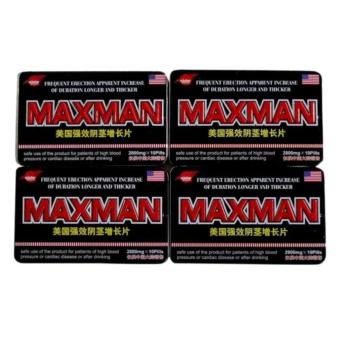 Max-man Penis Enlarger and Sex Enhancement Supplement (Set of 4) Price Philippines