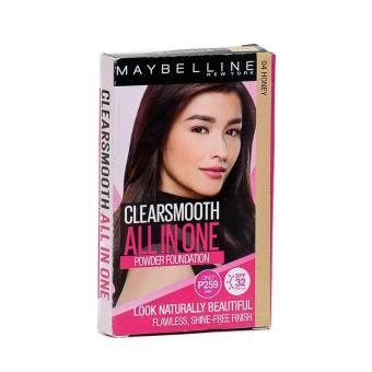 Maybelline Clearsmooth All In One Powder Foundation SPF32 PA+++ (Honey)