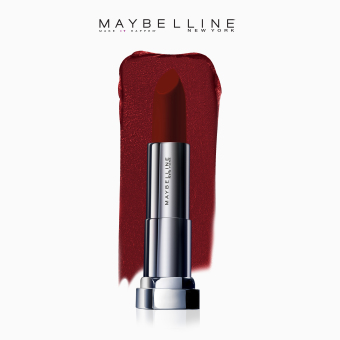 Maybelline Color Sensational Creamy Matte Lipstick - Code Red [New York's #1 - Inti-Matte Nudes Collection]