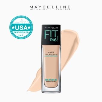 Maybelline Fit Me Matte Poreless Liquid Foundation - 120 Classic Ivory