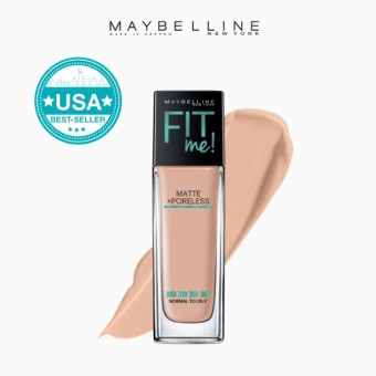 Maybelline Fit Me Matte Poreless Liquid Foundation - 125 Nude Beige
