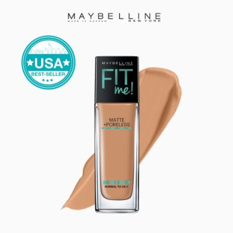 Maybelline Fit Me Matte Poreless Liquid Foundation - 330 Toffee Price Philippines