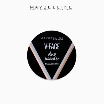 Maybelline V-Face Duo Powder - Medium Dark Philippines