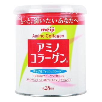 Meiji Amino Collagen Powdered Drink Mix, 200g Can
