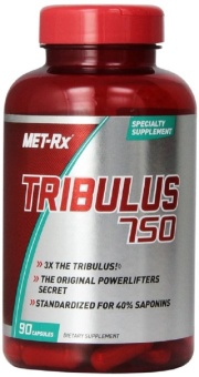 MET-Rx Tribulus 750 Diet Supplement Capsules, 90 Count