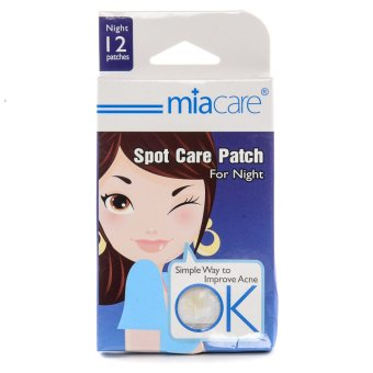 Miacare Spot Care Patch For Night Box of 12 Patches.