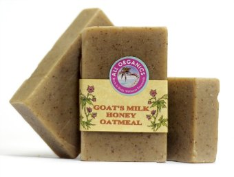 Milea Organic Goat's Milk Honey Oatmeal Moisturizing Soap 100mg Setof 3 Price Philippines