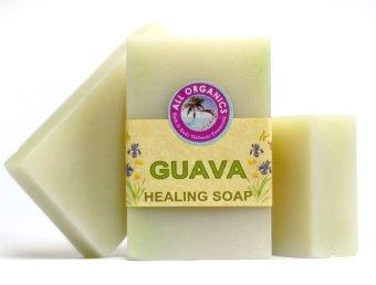 Milea Organic Guava Antibacterial Soap Set of 3