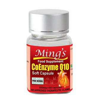 Ming's CoEnzyme Q10 Softgel Capsules Bottle of 60