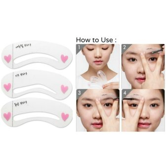 Mini Brow Class Eyebrow Stencil Drawing Guide