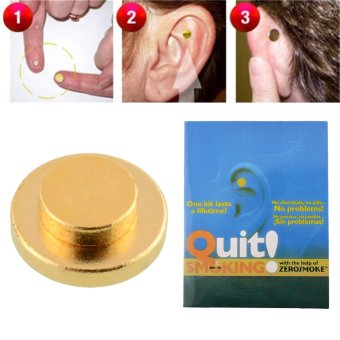 Mini Quit Smoking Acupressure Care Auricular Magnet Tile TherapyHealth Care Price Philippines