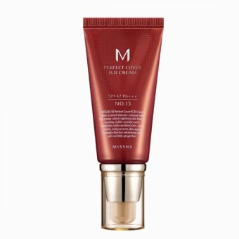 MISSHA M Perfect Cover BB Cream SPF 42 PA+++ #21 Light Beige - intl