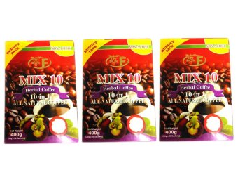 Mix 10 Herbal Coffee 400g Sachets Box of 20 Set of 3
