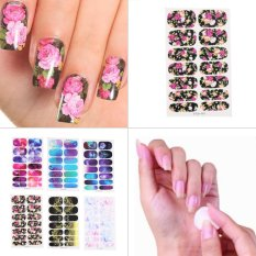 Mixed 6 Styles Scenery Landscape Full Cover Self Adhesive Nail Art Stickers Multicolor Philippines