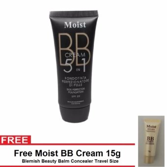 Moist BB Cream 5in1 Skin Perfector FREE BB Cream Concealer Whitening Liquid Foundation SPF20 Shade#2