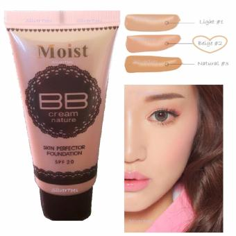 Moist BB Cream Skin Perfector BEIGE Shade#2 Liquid Foundation SPF20 Single