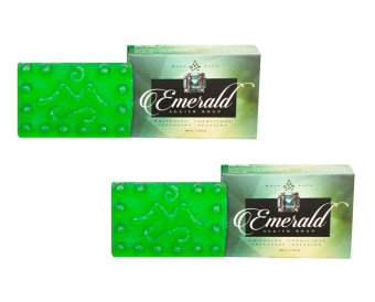 Mont Sapo Emerald All-In Soap 120g Set of 2