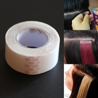 Moonar Double Sided Tape PU Hair Extension Human Wig Adhesive Glue Tapes - intl Price Philippines