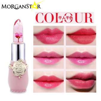 Morganstar #034 Flower Moisturizing Lipstick Waterproof Transparent Lipstick#01